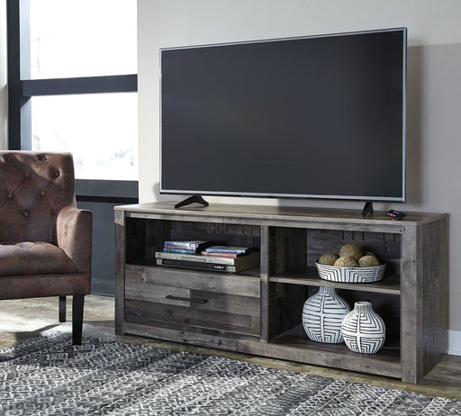 Derekson Multi Gray TV Stand