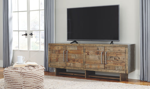 Mozanburg Rustic Brown TV Stand