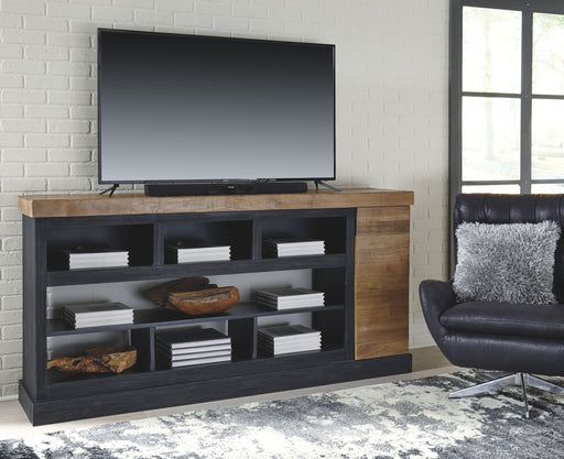 Tonnari Two Tone Brown TV Stand