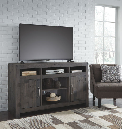 Mayflyn Charcoal TV Stand