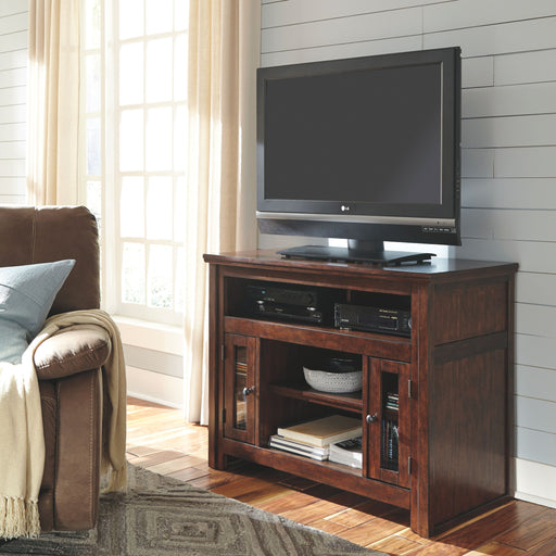 Harpan Reddish Brown TV Stand