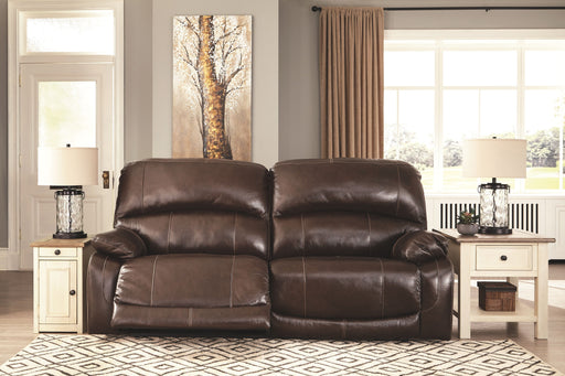 Hallstrung Chocolate 2 Seat Reclining Power Sofa