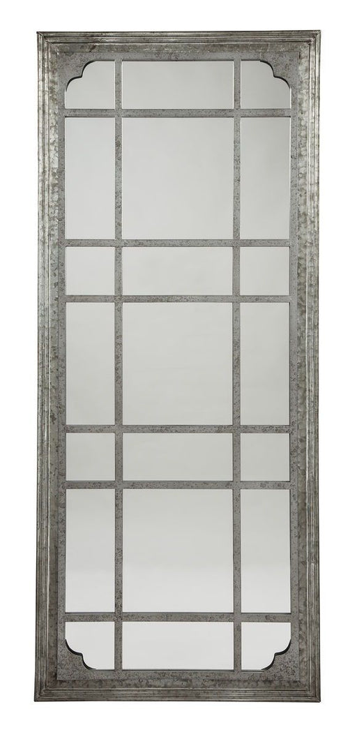 Remy Antique Gray Floor Mirror