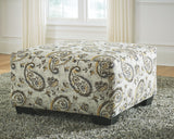 Renchen Brindle Oversized Accent Ottoman
