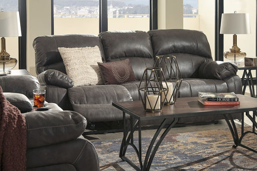 Dunwell Steel Power Reclining Sofa and Loveseat with Adjustable Headrests