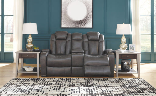 Turbulance Quarry Power Reclining Loveseat