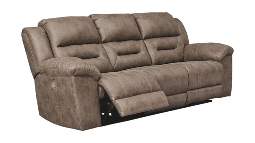 Stoneland Fossil Power Reclining Sofa