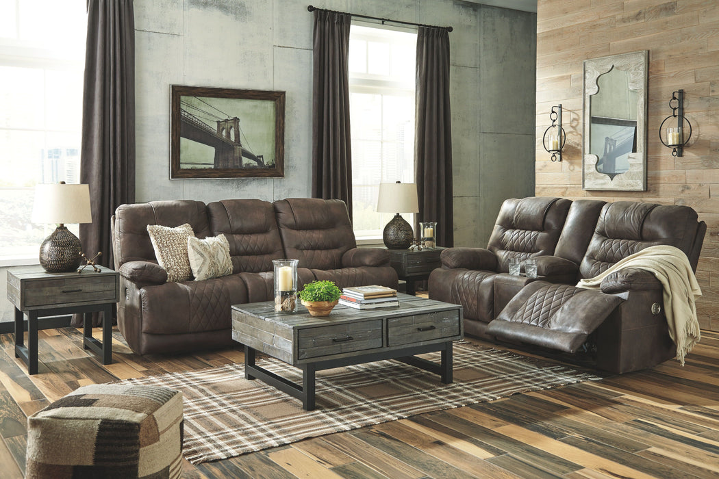 Swell Welsford Walnut Power Reclining Sofa With Adjustable Headrest Onthecornerstone Fun Painted Chair Ideas Images Onthecornerstoneorg