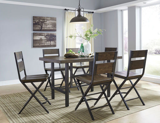 Holden 7 Piece Counter Height Dining Set