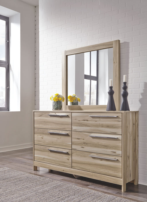 Kianni Taupe Dresser and Mirror