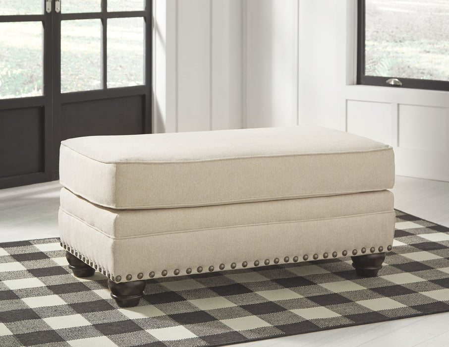 Harrietson Shell Ottoman