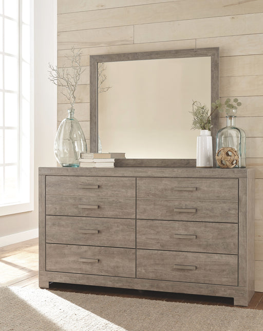 Culverbach Gray Dresser and Mirror