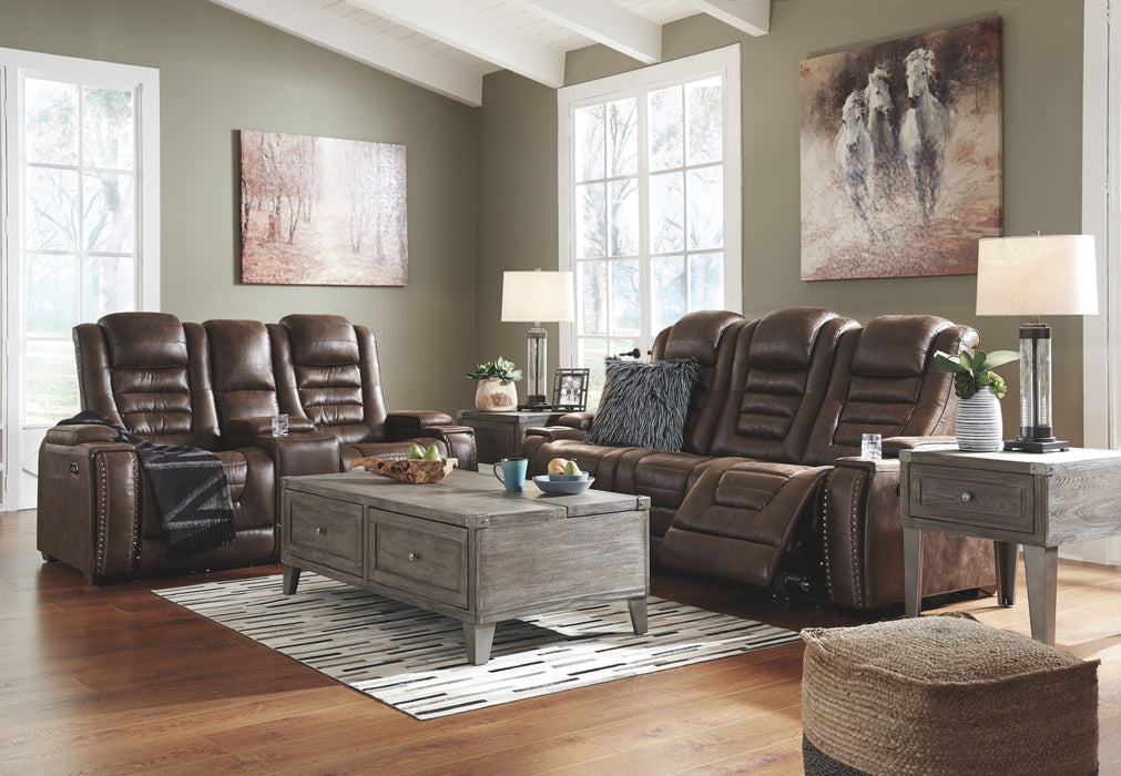 Phenomenal Game Zone Bark Power Reclining Sofa And Loveseat With Adjustable Headrests Onthecornerstone Fun Painted Chair Ideas Images Onthecornerstoneorg
