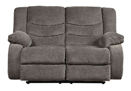Tulen Gray Reclining Love Seat