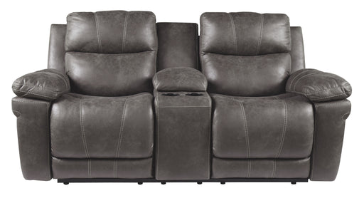 Erlangen Midnight Power Reclining Loveseat