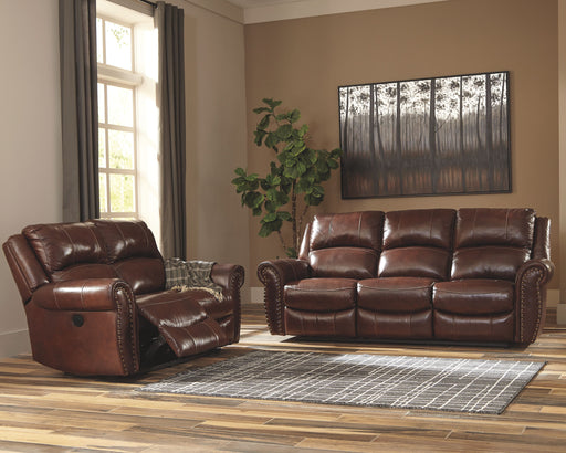 Bingen Harness Reclining Power Sofa & Reclining Power Loveseat