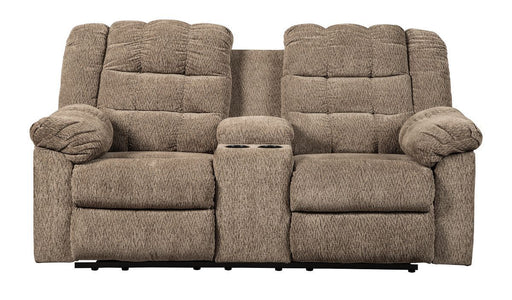 Workhorse Cocoa Reclining Loveseat
