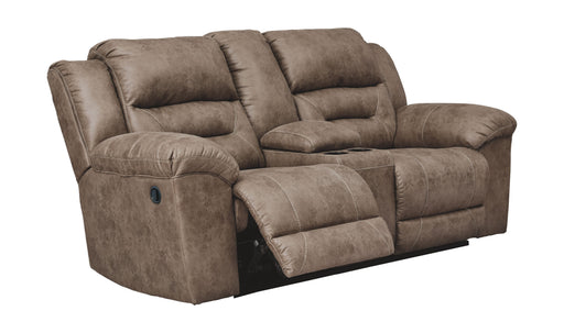 Stoneland Fossil Power Reclining Loveseat