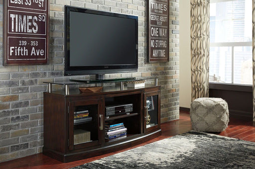 Chanceen Dark Brown TV Stand