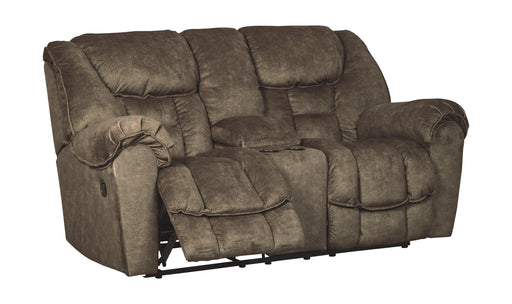 Capehorn Earth Reclining Loveseat