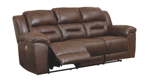 Stoneland Chocolate Power Reclining Sofa