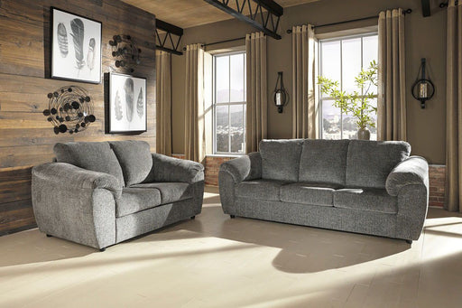 Azaline Slate 2 Piece Living Room Set