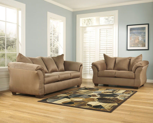 Darcy Mocha 2 Piece Living Room Set