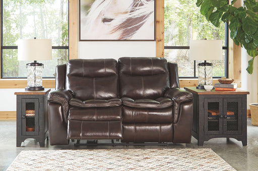 Lockesburg Canyon Leather Power Love Seat