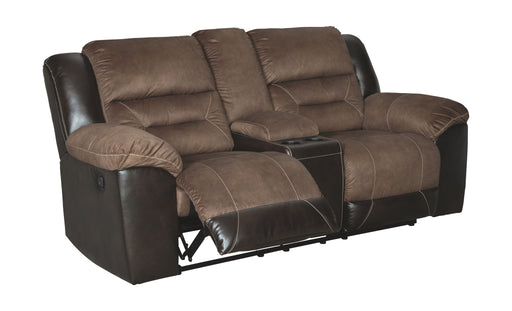 Earhart Chestnut Reclining Loveseat