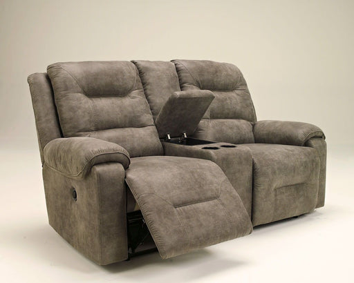 Rotation Smoke Power Reclining Loveseat