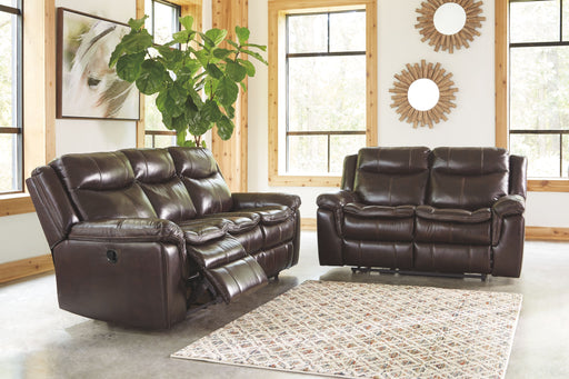 Lockesburg Canyon Reclining Sofa & Reclining Loveseat