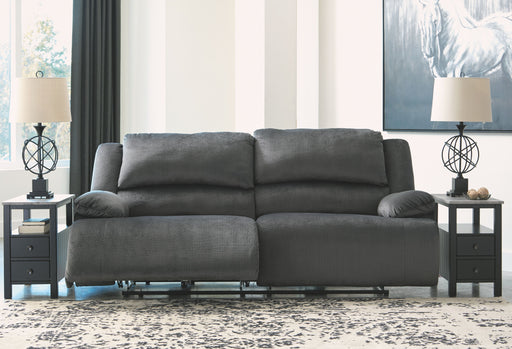 Clonmel Charcoal 2 Seat Reclining Power Sofa