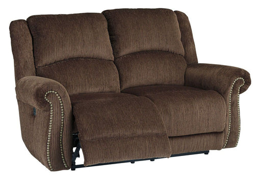 Goodlow Chocolate Power Reclining Loveseat