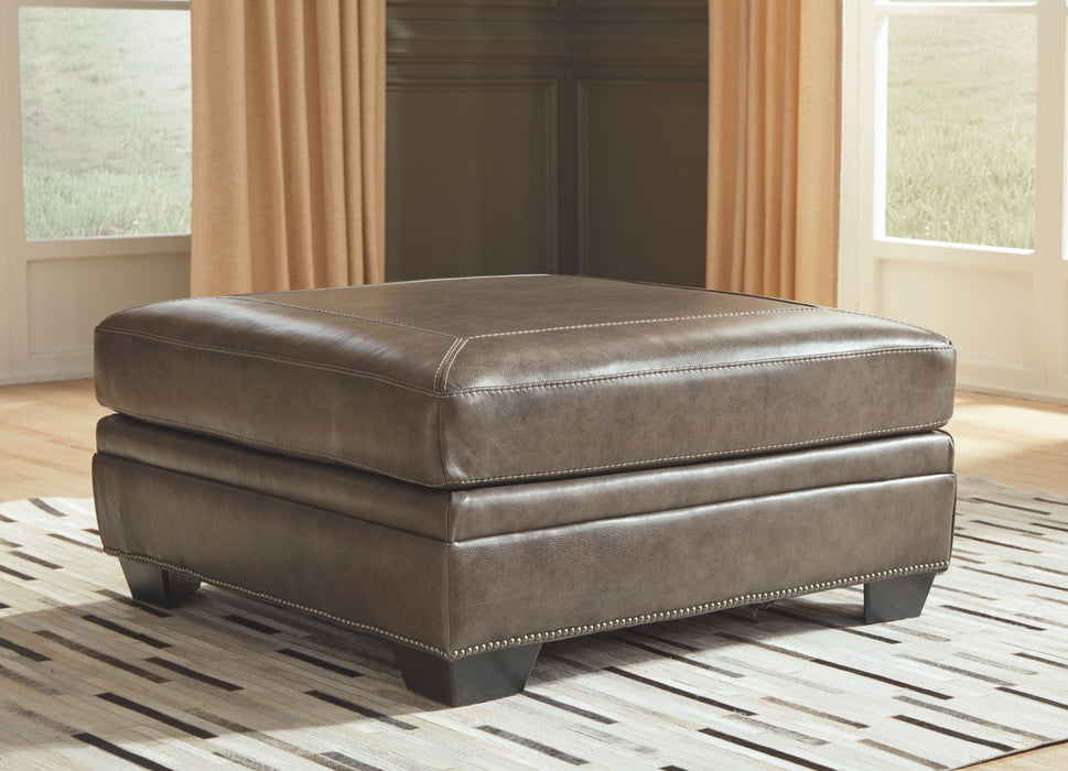 Roleson Quarry  Oversized Accent Ottoman