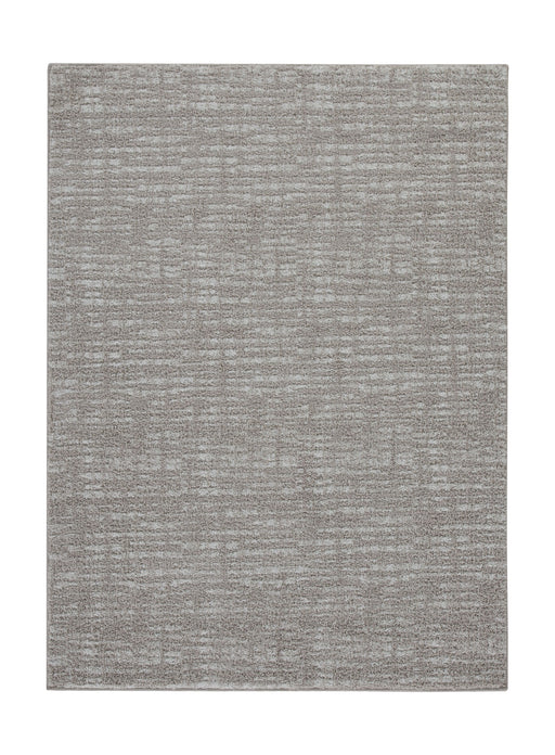 Norris Taupe/White Medium Rug