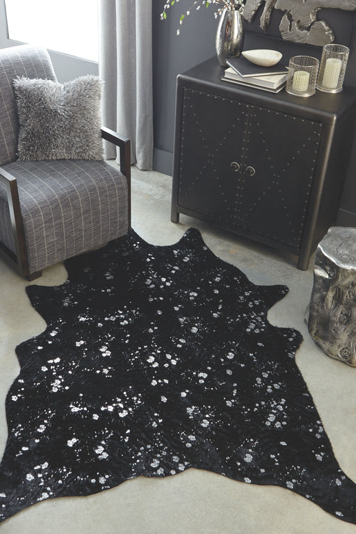 Jaxith Black Medium Rug