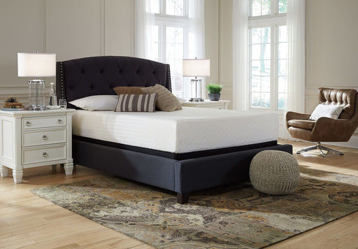 Chime 8 Inch Memory Foam Queen Mattress Set
