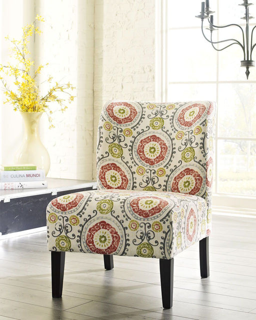 Honally Floral Accent Chair