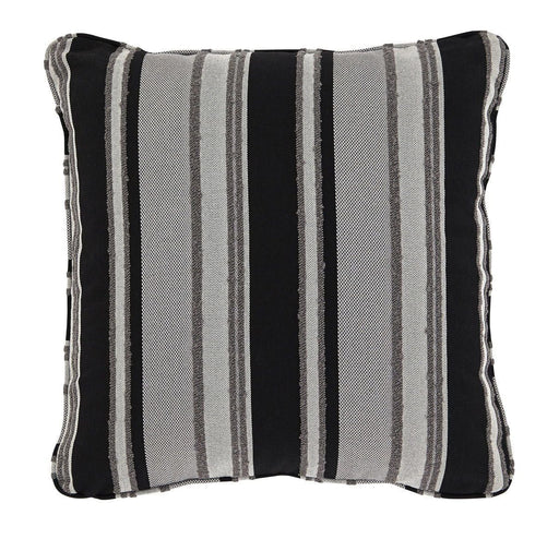 Samuel Black/Tan Pillow 4 Included