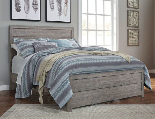 Culverbach Gray Queen Bed Frame