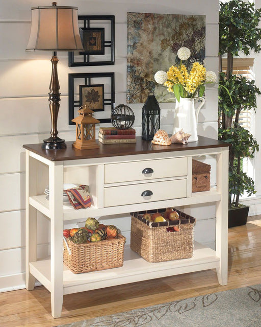 Whitesburg Brown/Cottage White Buffet