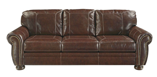 Banner Coffee Leather Sofa