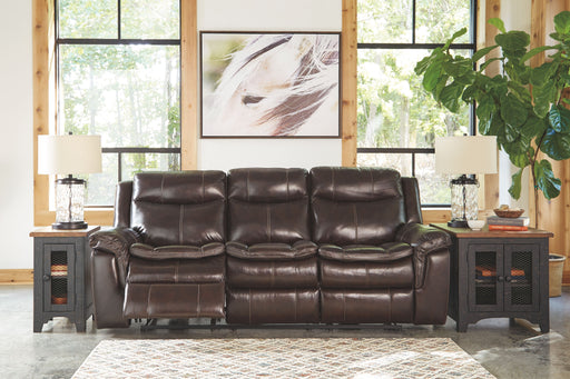 Lockesburg Canyon Leather Power Sofa