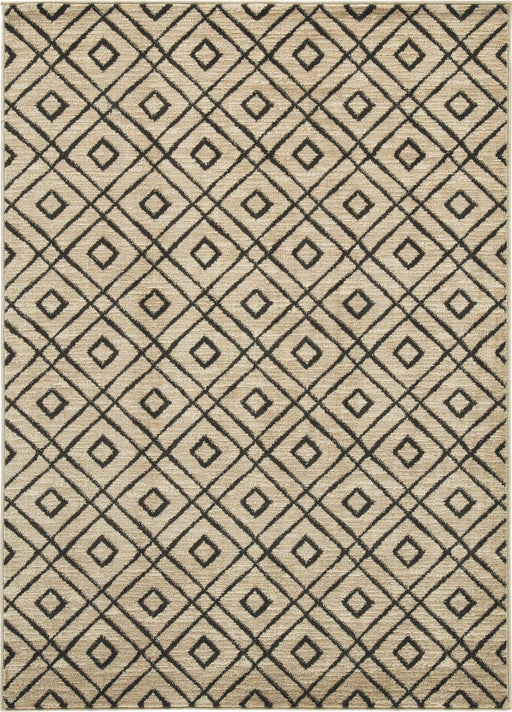 Jui Brown/Cream Medium Rug