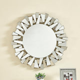 Modern Round Contemporary Wall Mirror