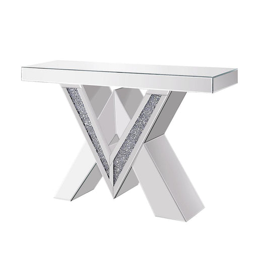 Sharp & Bright Console Table