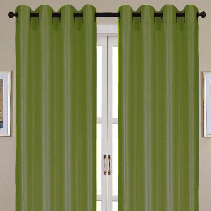 Nancy Faux Silk Grommet Panel