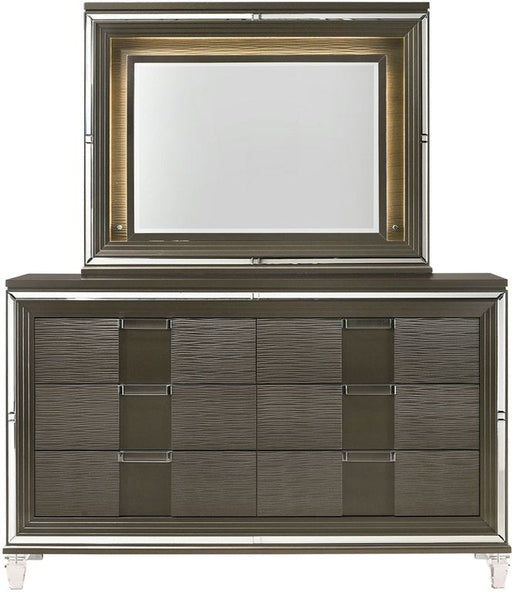 Twenty Nine Copper Dresser & Mirror