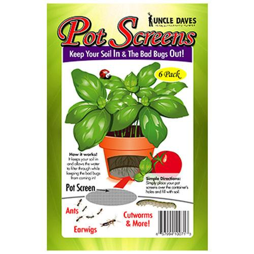 Pot Screens - Label