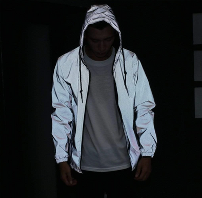 REFLECTIVE TECH WINDBREAKER